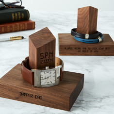 Personalised Time And Date Watch Stand