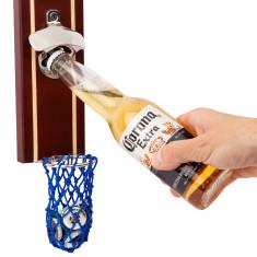 Basket Beer with Wooden Backboard