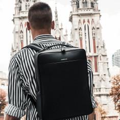 65801e42e592 Metropolitan Business Backpack (Black). by Maverick   Co.