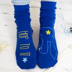 Hop to it bunny socks
