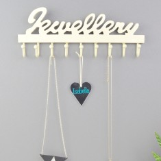 Wooden Jewellery Hook & Necklace Hanger