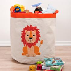 Lion storage hamper