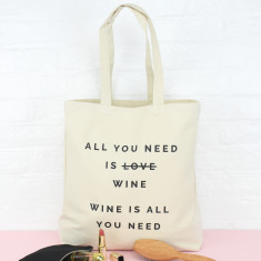 All You Need Is ... Personalised Tote Bag