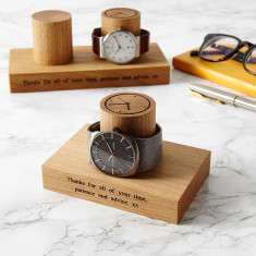 Personalised Gent's Watch Stand