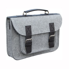 Felt laptop bag