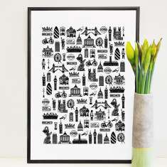 Illustrated London print