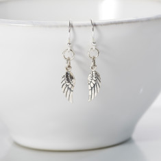 Heaven Sent Angel Wing Earrings