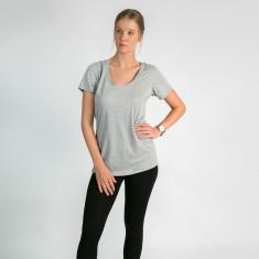 Modal/cotton t-shirt in misty