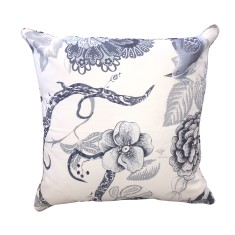 Blue Magnolia Cushion
