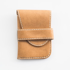 Axel leather card holder