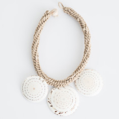 Tribal Masai shell necklace