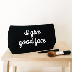 Good face makeup bag