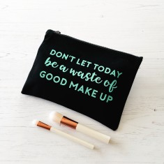 Positivity make up bag
