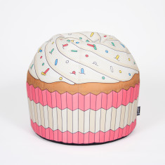 Woouf Bean Bag Cover - Cupcake Pink