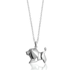 Lion origami necklace