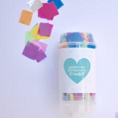 Love & Confetti Valentine's Confetti Pop