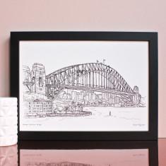 Sydney Harbour Print
