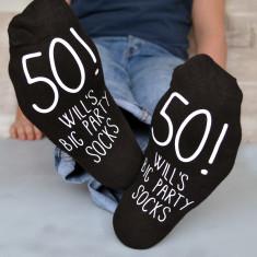 Birthday party socks