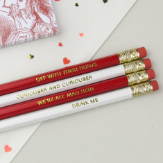 Alice In Wonderland Pencil Set