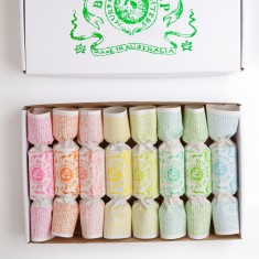 Green bon bon soap giftbox (set of 8)
