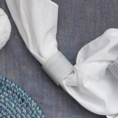 Mori serviette rings (set of 6)