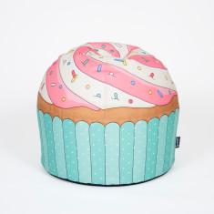 Woouf Bean Bag Cover - Cupcake Blue