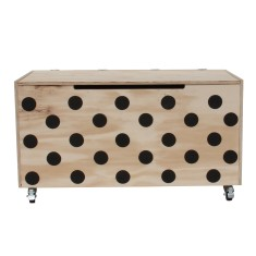 Polka Dot Toy Box