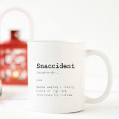 Snaccident - coffee mug