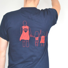 Personalised SuperDad T-Shirt