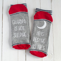 Personalised Not Sleeping Socks
