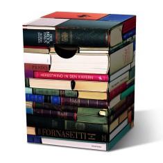 Cardboard Stool - Bookworm