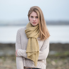 Alpaca Travel Shawl & Pillow