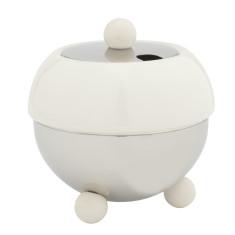 Bredemeijer Cosy sugar bowl in white