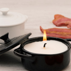 Bacon Scented Candle In A Casserole Dish