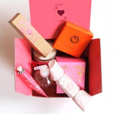 Box O' treats pamper giftbox