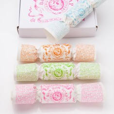 Pink bon bon soap giftbox (set of 4)