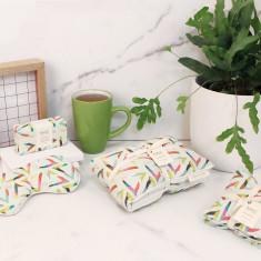 Heat Pillow, Eye Mask, Drawer Sachets, & Soap (2 colours)