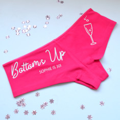 Bottoms Up! Personalised Underwear