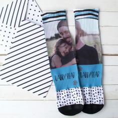 Your Photo Daddy Bear Socks