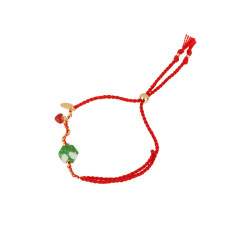Lucky Bracelet - Red Heart Charm