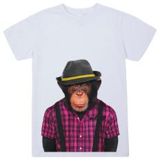 Male Monkey kid's tee