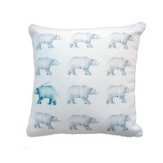 Multi Bear Cushion Cover