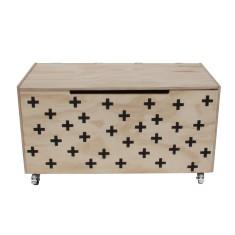 Swiss Cross Toy Box