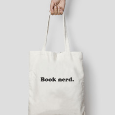 Book Nerd Quote Tote Bag