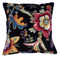 Alhambra cushion cover in black
