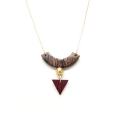 Tribal arc necklace