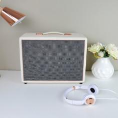 HolySmoke Joy Street - Bluetooth Retro Speaker - White