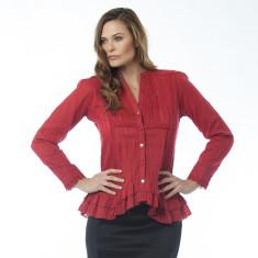 Agneta red top