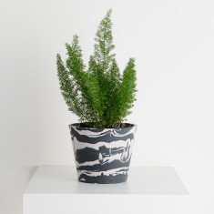 Marble Eco Resin Pot