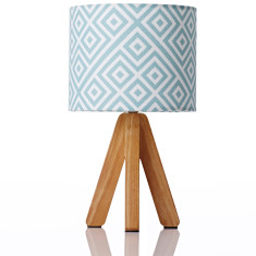 Tipi table lamp in quinton mint